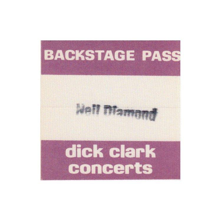 Neil Diamond - 1967 Backstage Pass