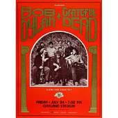 Bob Dylan  Grateful Dead  1987 Concert Poster