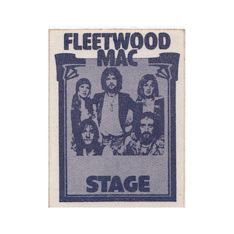 Fleetwood Mac - 1975 Tour - Backstage Pass