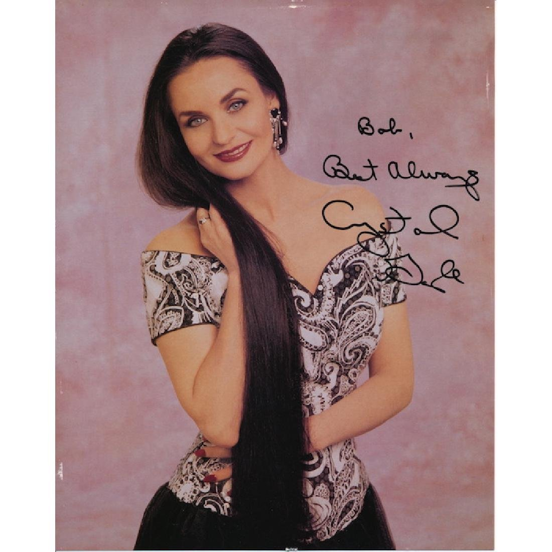 Crystal Gayle Autographed Photograph