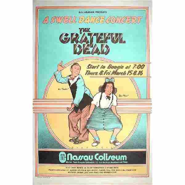 Grateful Dead - 1973 Concert Poster