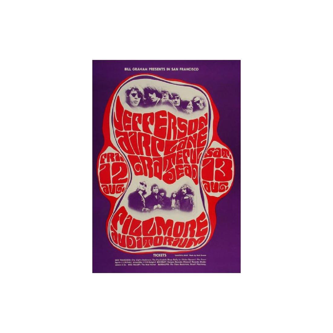 Grateful Dead - Jefferson Airplane - 1966 Fillmore