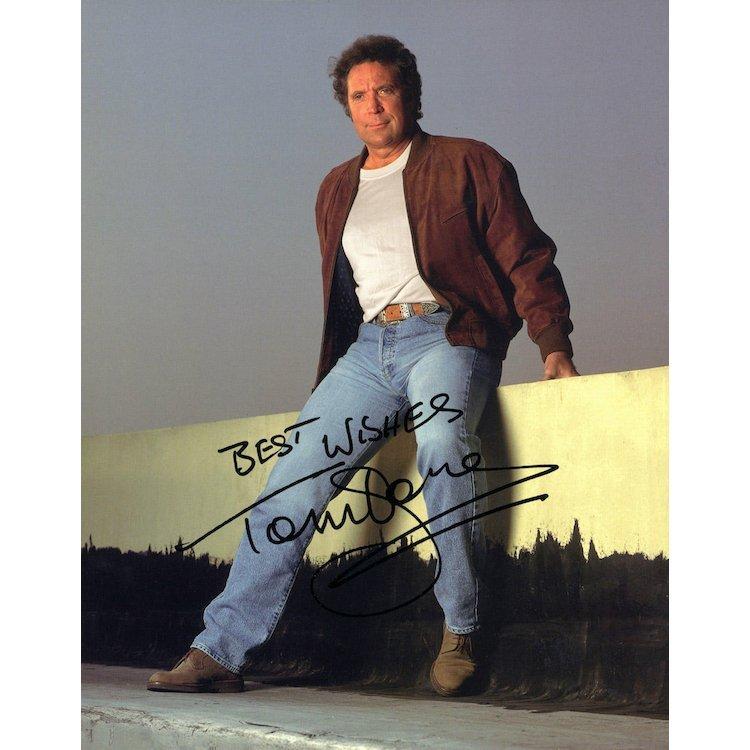 Tom Jones Autographed Photograph
