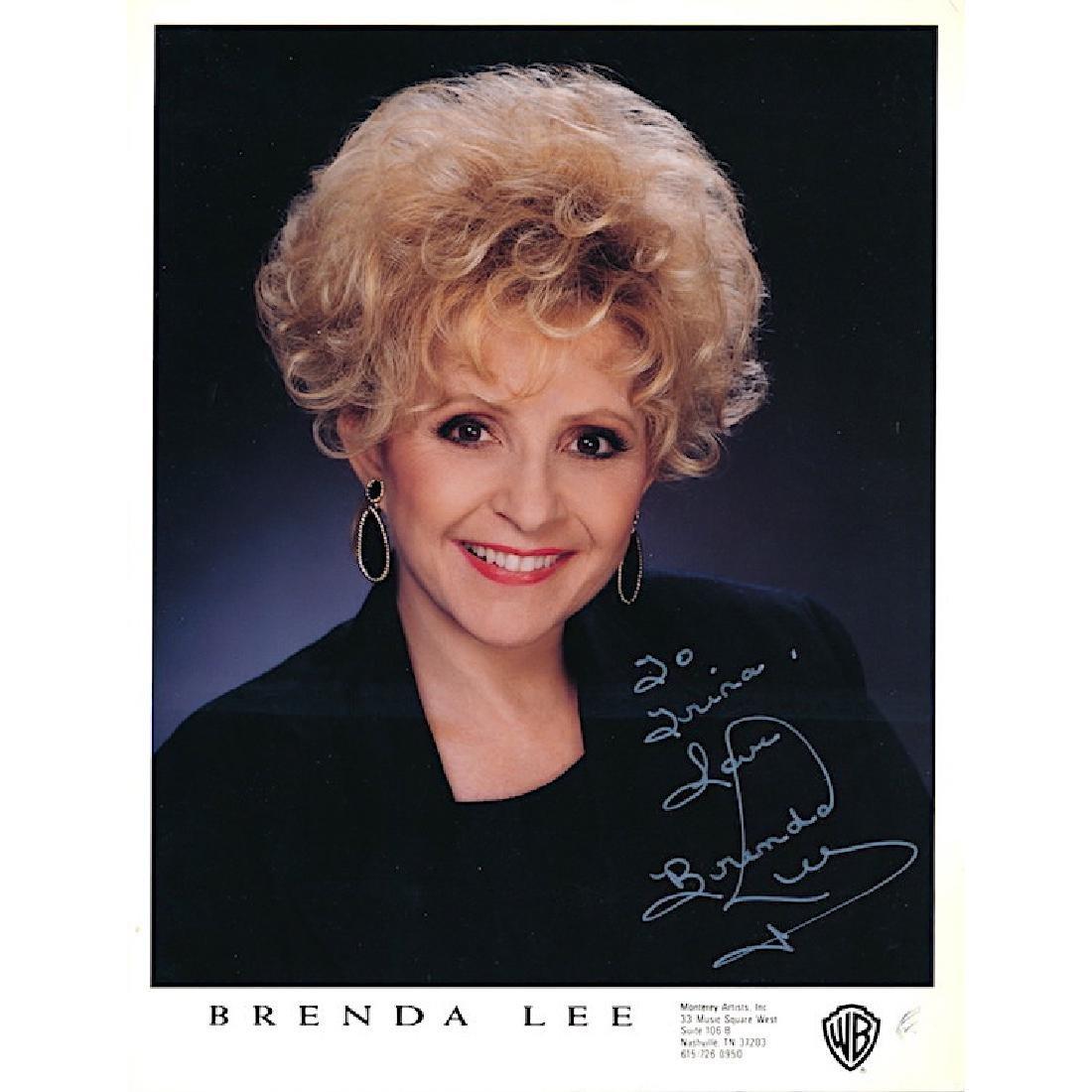 Brenda Lee Autographed Photograph