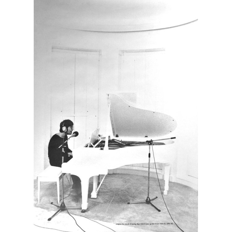 John Lennon - Imagine - 1971 Promotional Poster