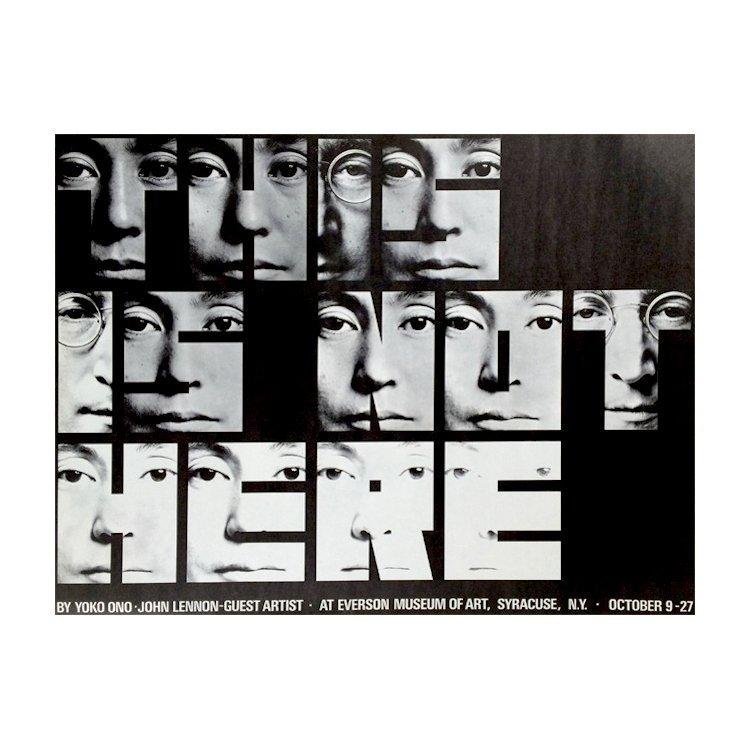 John Lennon & Yoko Ono - This Is Not Here - Program