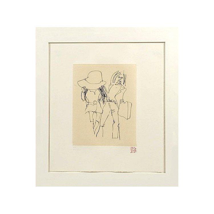 John Lennon - Yoko Ono - Honeymoon - Signed Lithograph