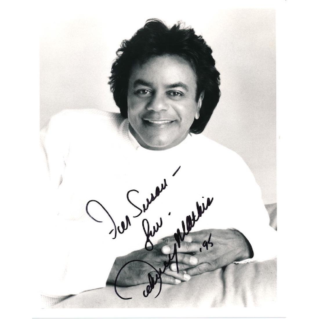 Johnny Mathis Autographed Photograph