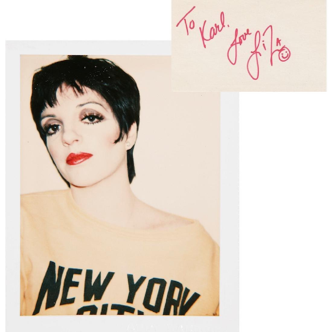 Liza Minnelli Autograph