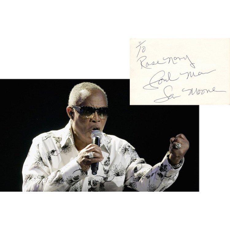 Sam Moore - Soul Man - Autograph
