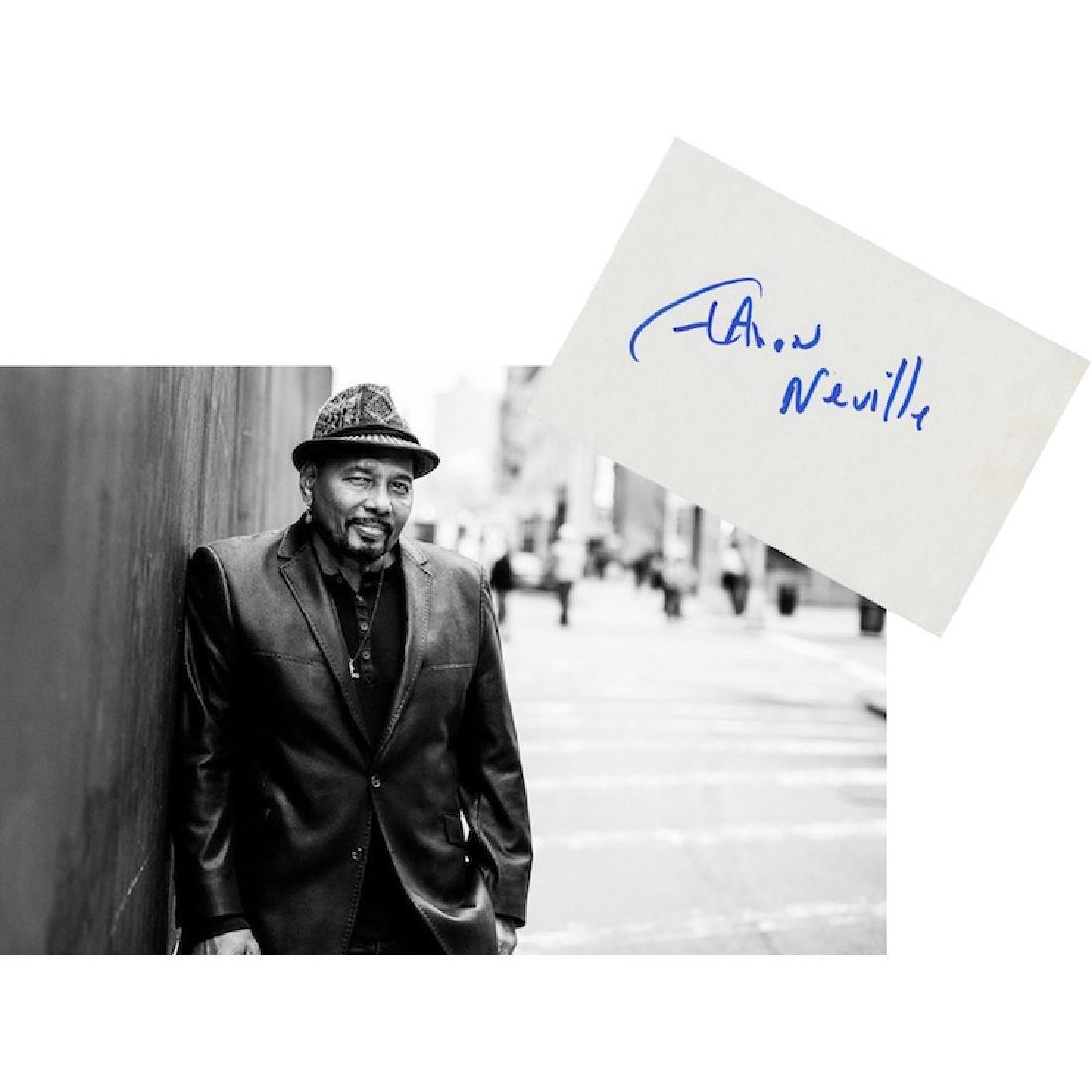 Aaron Neville Autograph