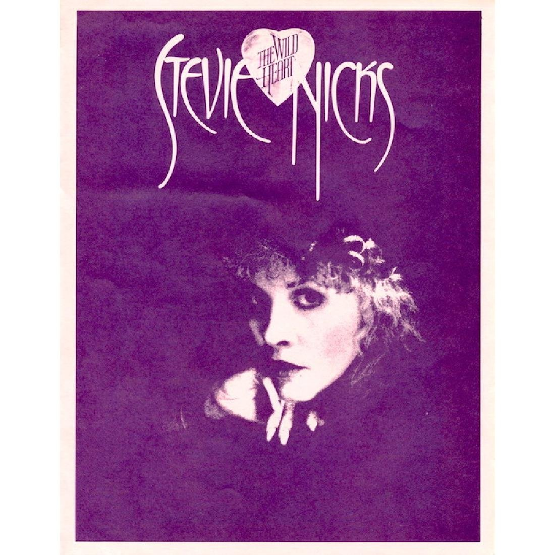 Stevie Nicks - The Wild Heart - Tri-fold Press Release