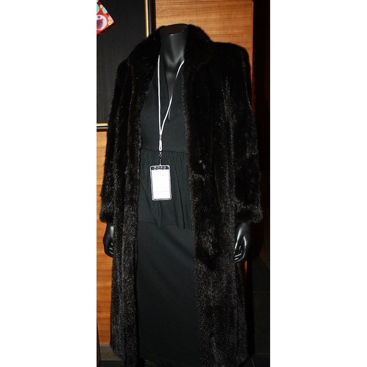 Stevie Nicks - Stage Worn Black Mink Fur Coat