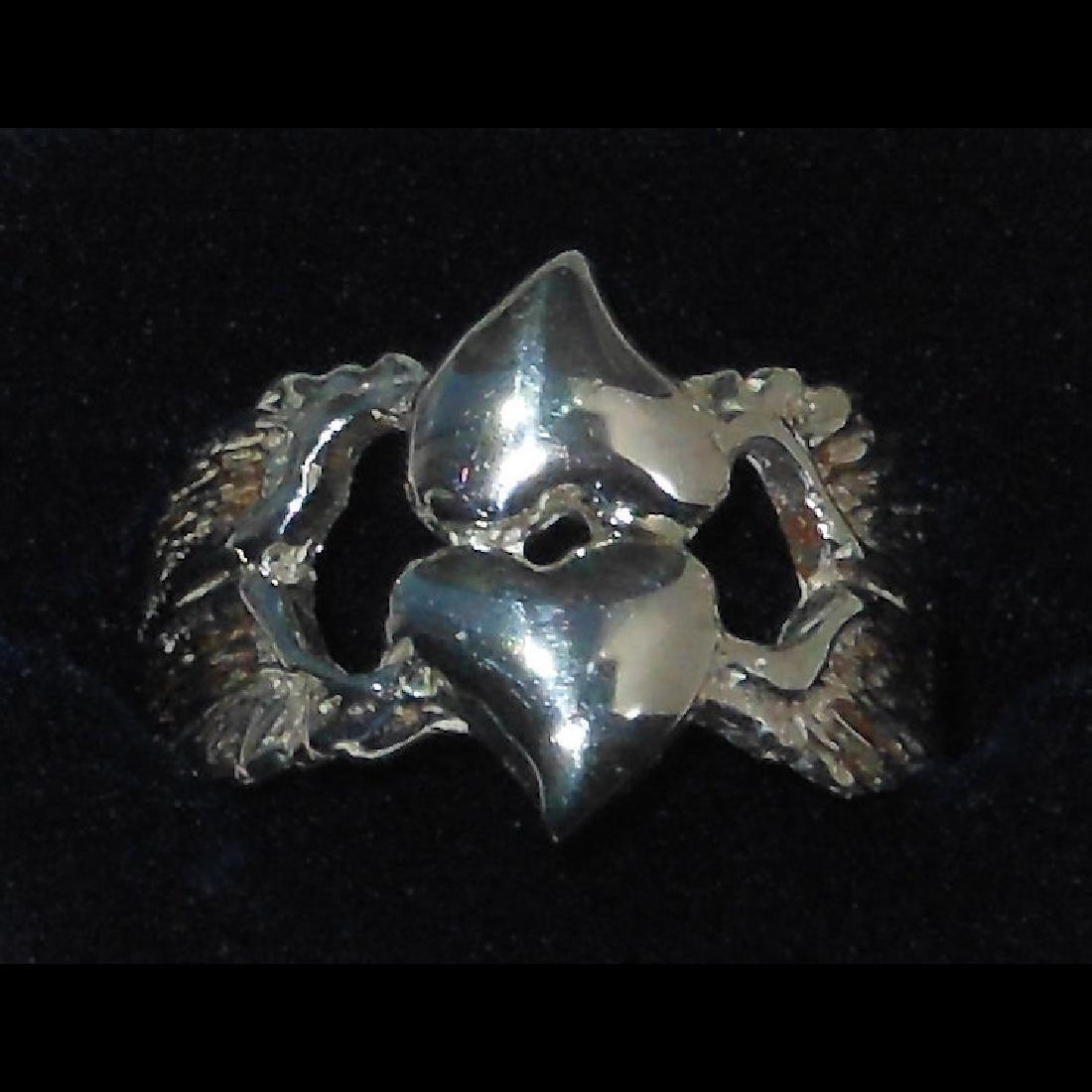 Stevie Nicks - Wild Heart - 1983 Sterling Silver Ring