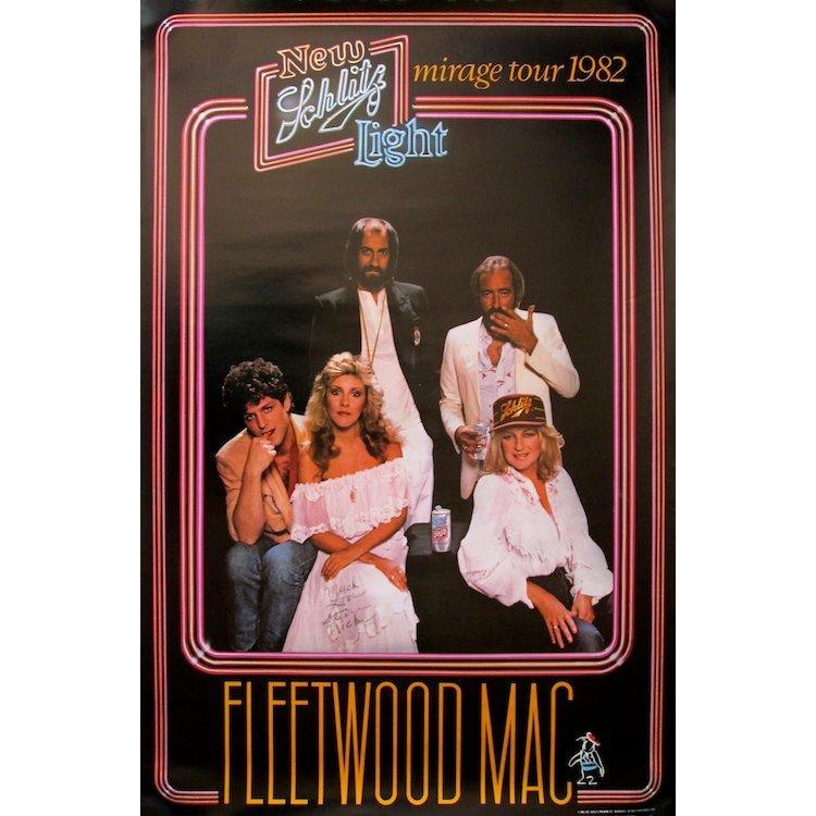 Stevie Nicks - Fleetwood Mac - Autographed Poster
