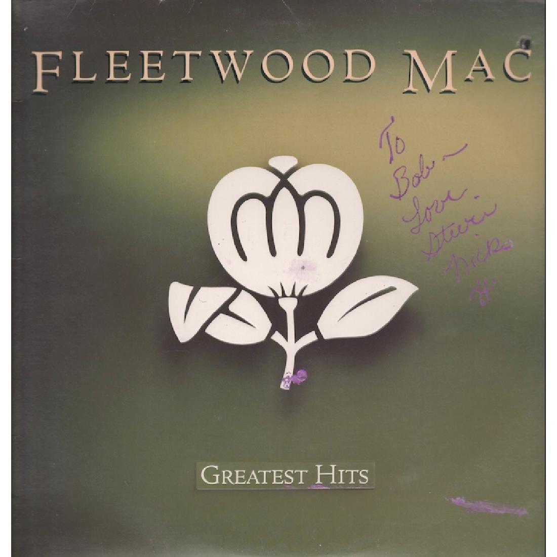 Stevie Nicks - Fleetwood Mac - Autographed Album