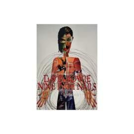Nine Inch Nails - David Bowie - 1995 Concert Poster