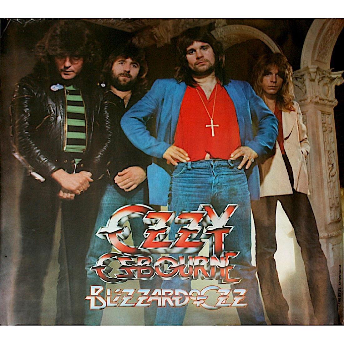 Ozzy Osbourne - Blizzard Of Ozz - Poster