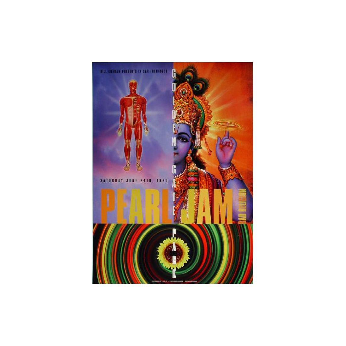 Pearl Jam - 1995 Concert Poster