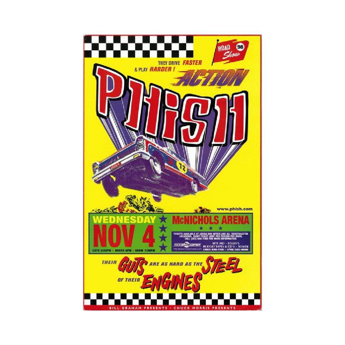 PHISH - 1998 Concert Poster