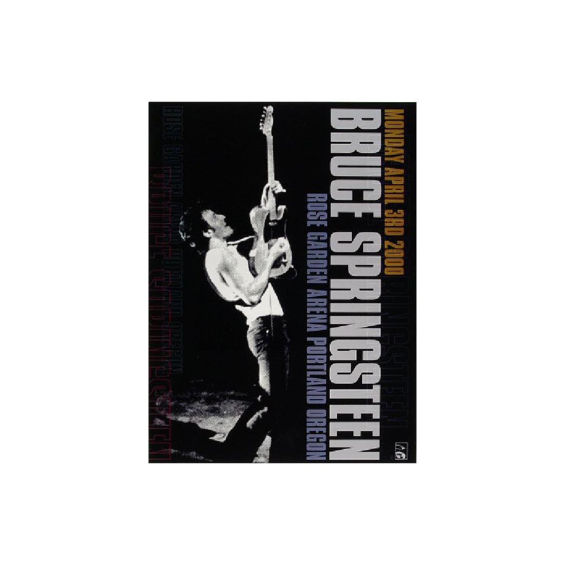 Bruce Springsteen - 2000 Concert Poster