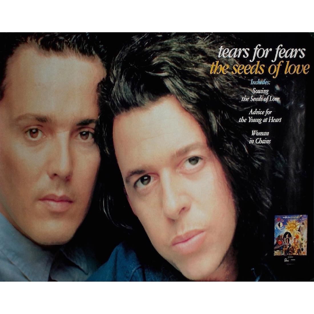 Tears For Fears - The Seeds of Love - Poster