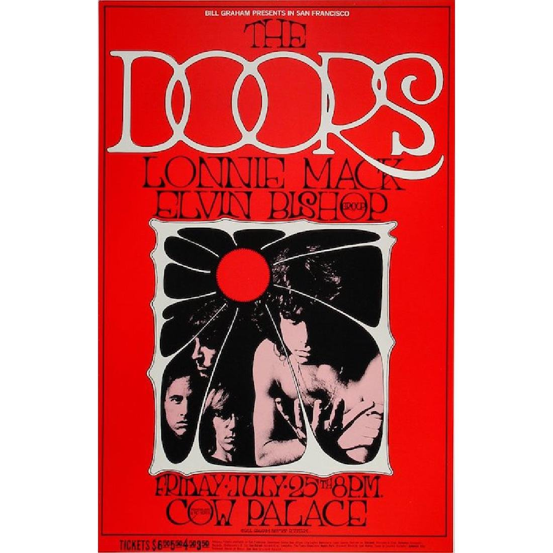 The Doors - 1969 Fillmore Concert Poster