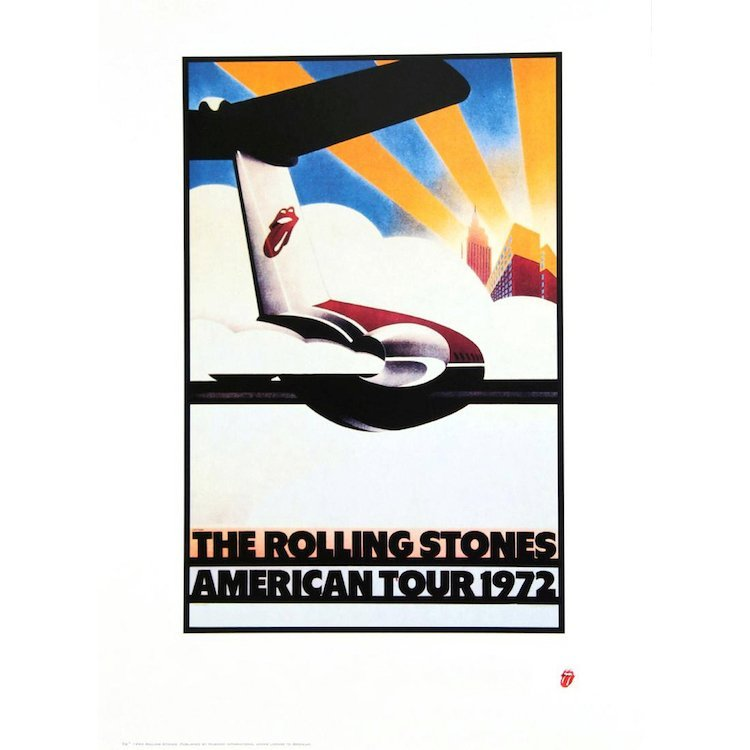 The Rolling Stones - American Tour - 1972 Concert