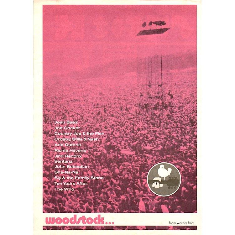 Woodstock Music Festival - Film Documentary - Program