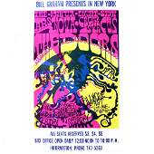 The Doors  1968 Fillmore East Concert Poster