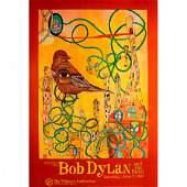 Bob Dylan  1999 Concert Poster