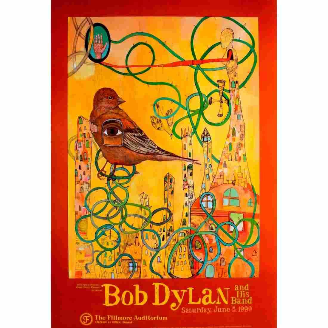 Bob Dylan - 1999 Concert Poster