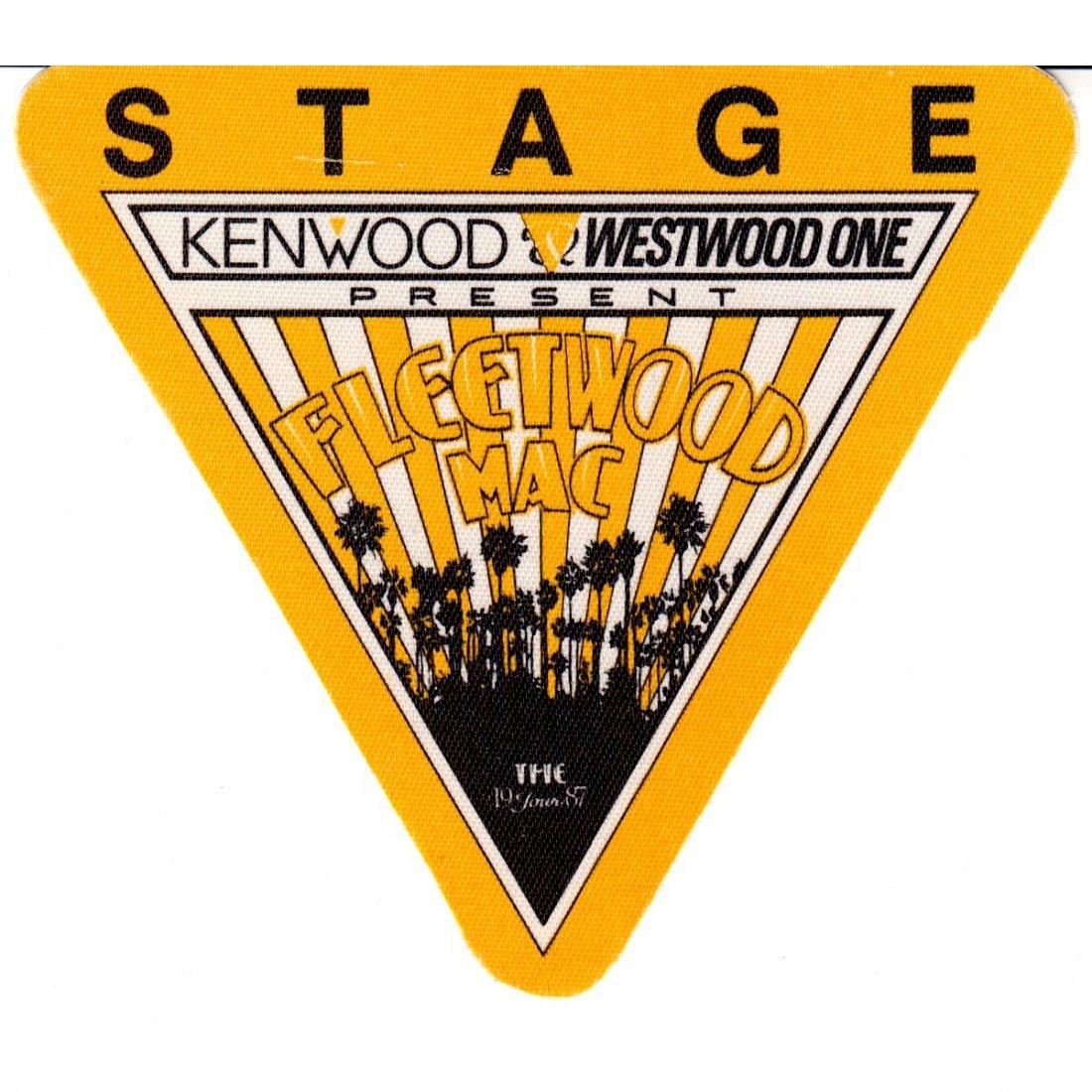 Fleetwood Mac - 1987 Backstage Pass