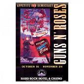 Guns N' Roses - 2012 Banned Concert Poster