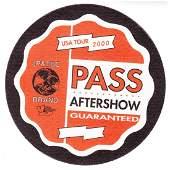 Led Zeppelin Jimmy Page 2000 Backstage Pass
