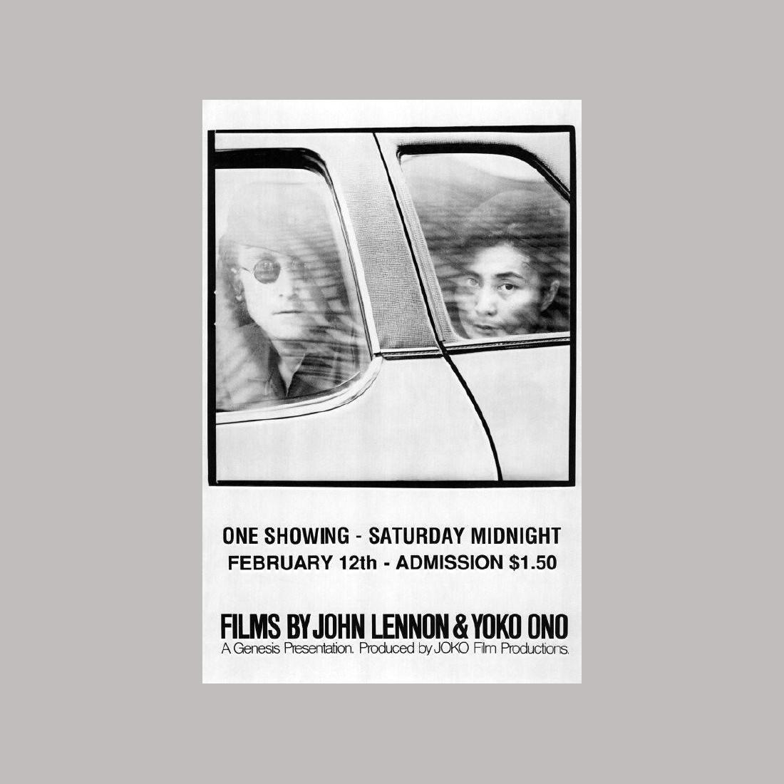 John Lennon - Films By John Lennon & Yoko Ono - 1972