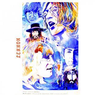 John Lennon Ruth Mayer Gallery Poster