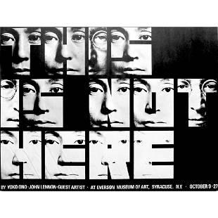 John Lennon Yoko Ono This Is Not Here 1971