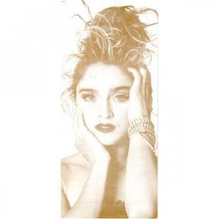 Madonna 1984 Like A Fan Club Brochure