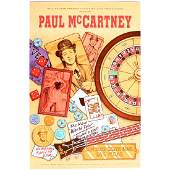 Paul McCartney  1993 Bill Graham Concert Poster