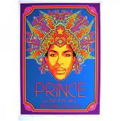 Prince - David Byrd - Signed 2013 Concert Poster