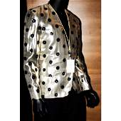 Prince - The Artist - Owned & Worn Gold Lame Jacket