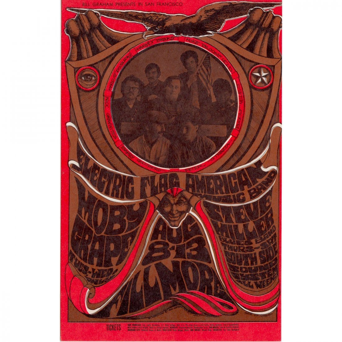 Electric Flag - 1967 Concert Handbill