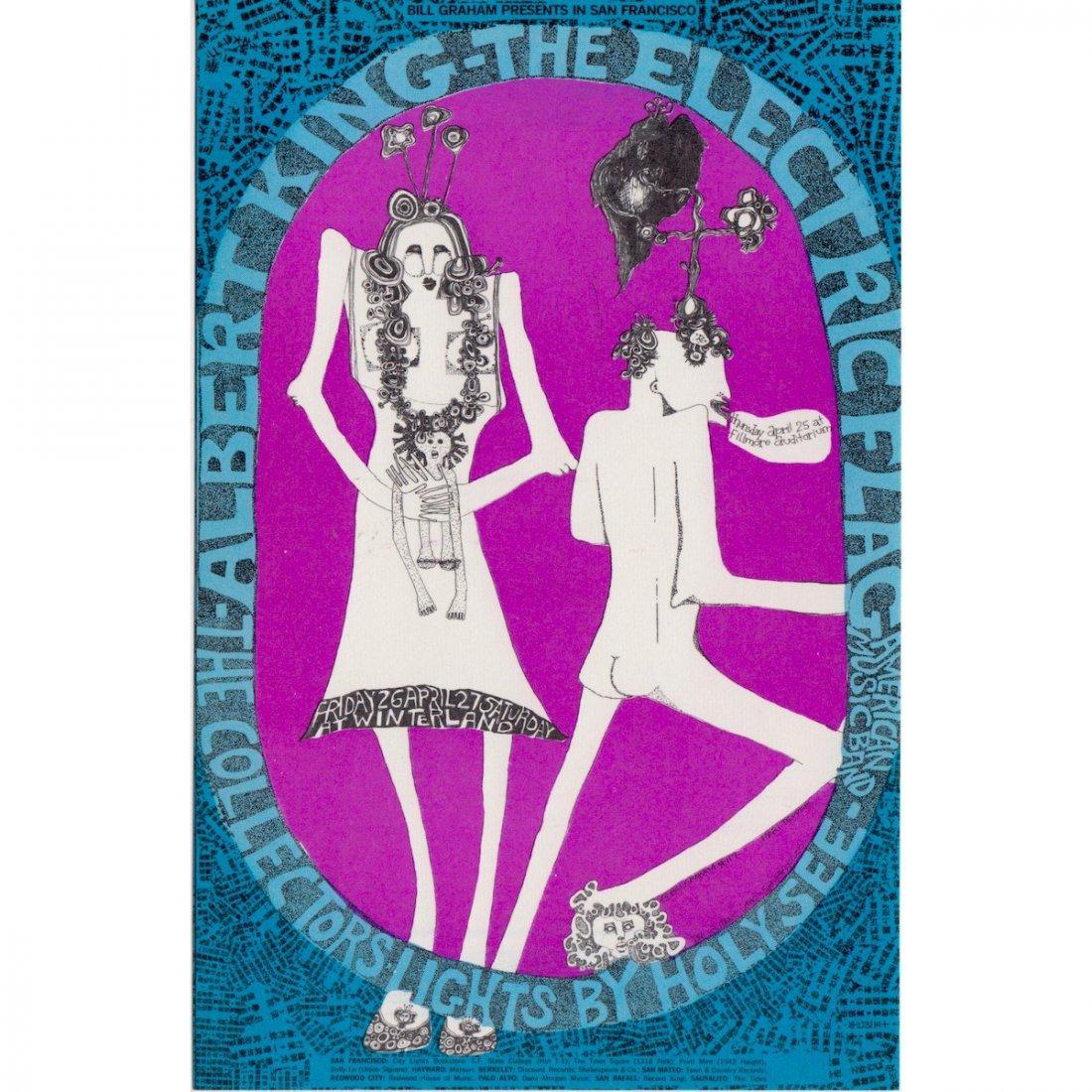 Electric Flag - 1968 Concert Handbill