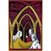 Pink Floyd - 1967 Fllimore Concert Poster