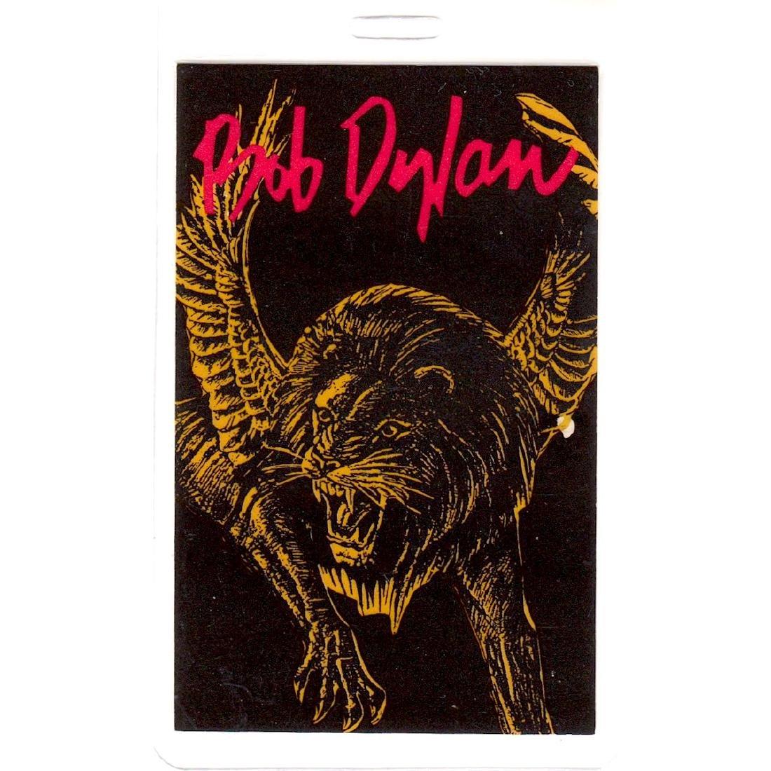 Bob Dylan - 1992 Laminated Backstage Pass