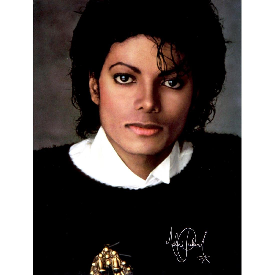 Michael Jackson - Thriller - 1982 Plate Signed Poster