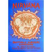 Nirvana  - Butthole Surfers - 1993 NYE Concert Poster