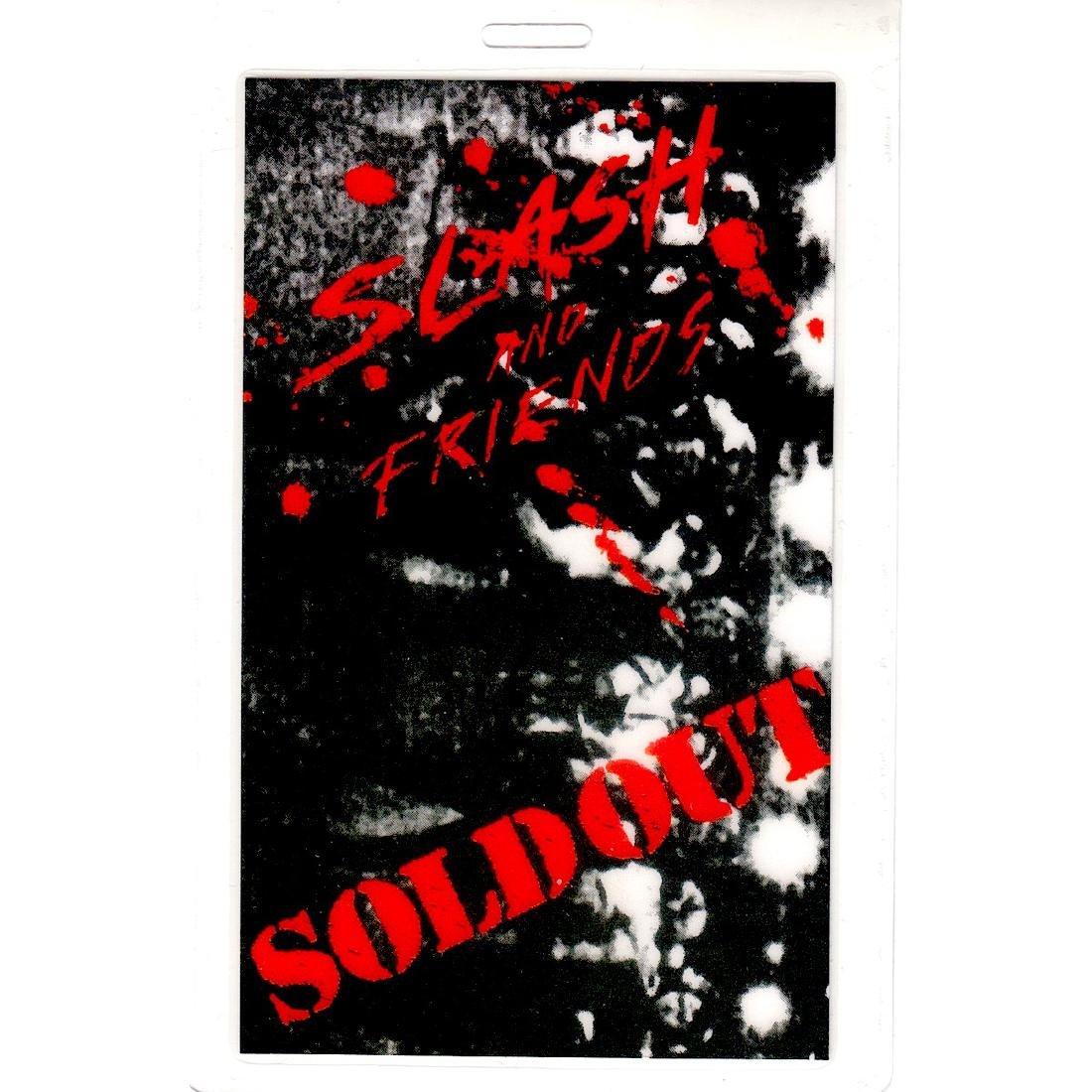 Slash & Friends - 2009 Laminate Backstage Pass