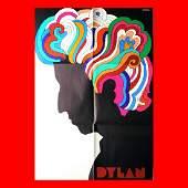 Bob Dylan  1966 Milton Glaser Poster
